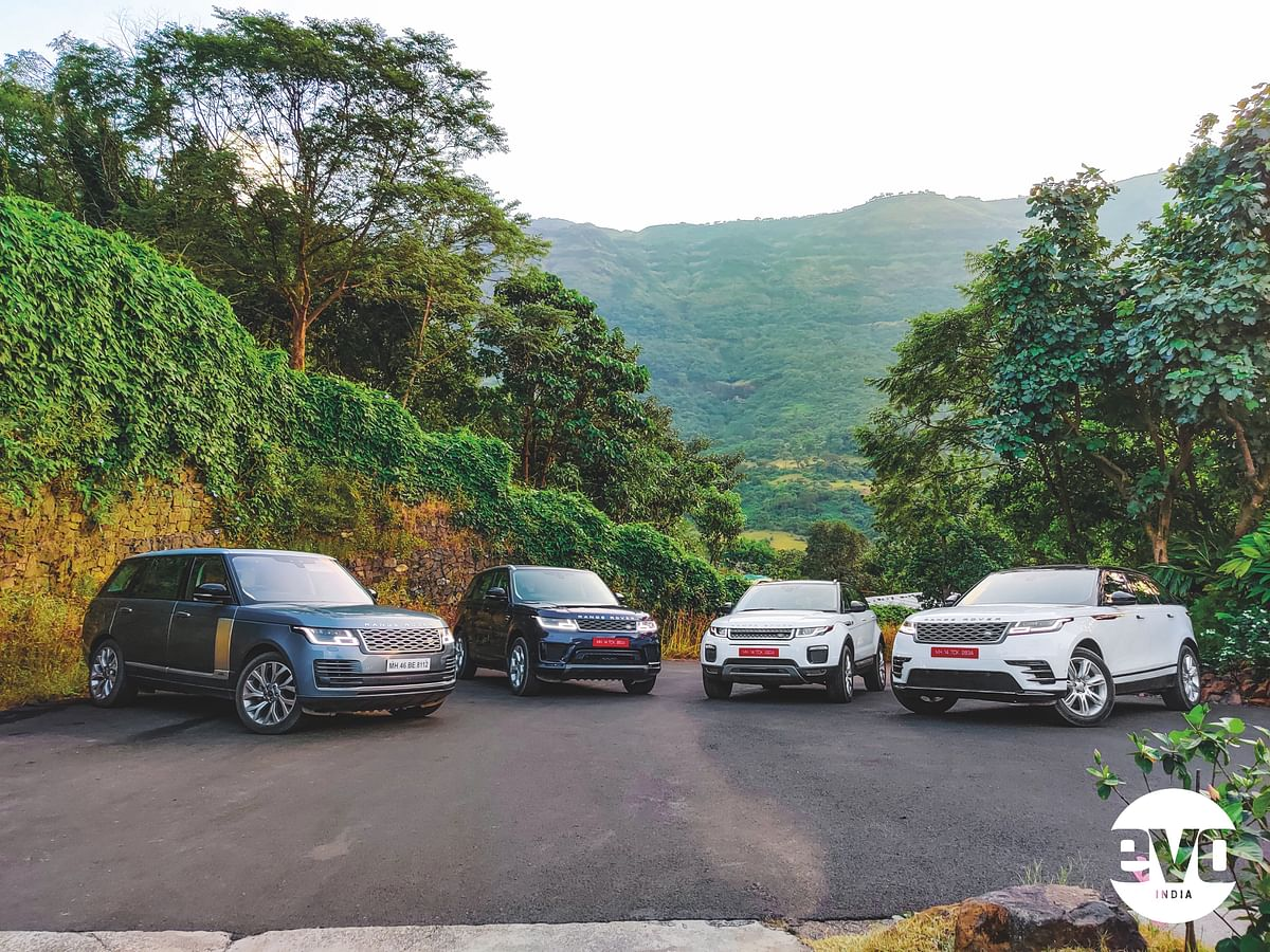 Range Rovers weekend getaway captured on a OnePlus mobile phone camera