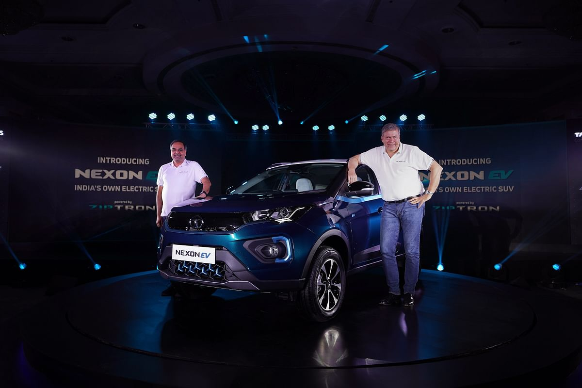 Tata Nexon EV unveiled,  pre-bookings start at Rs 21,000