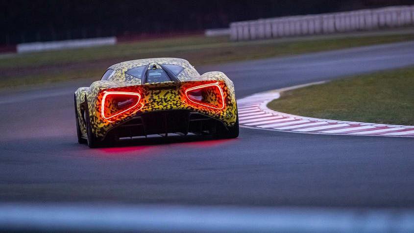Lotus Evija hypercar undergoes further testing
