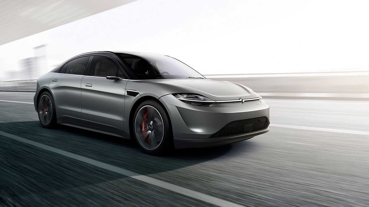 Sony stuns everyone with a Vision S Electric Car Concept at CES 2020
