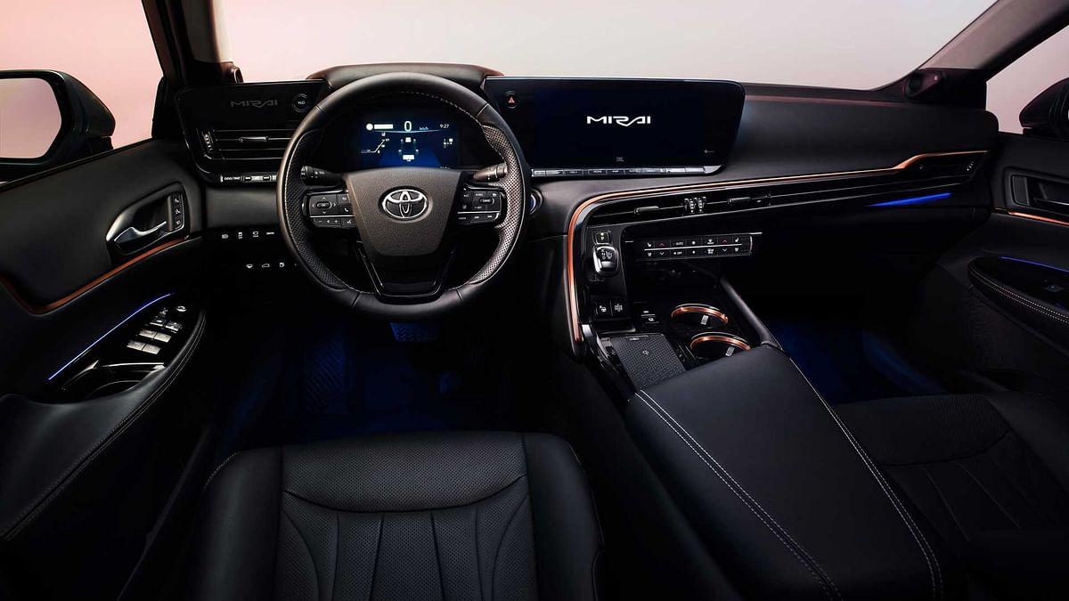 Toyota showcases pre-production Mirai