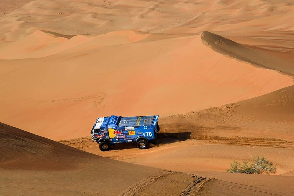 Dakar 2020: Stephane Peterhansel and Pablo Quintanilla claim top spot in stage 11
