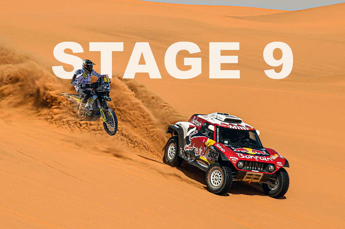 2020 Dakar  | Stage 9 | Peterhansel and Quintanilla come out on top