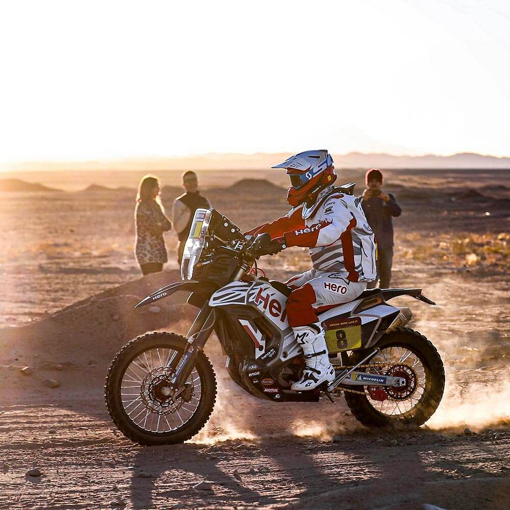 Hero MotoSports' Paulo Goncalves finishes 4th in stage four at the 2020 Dakar
