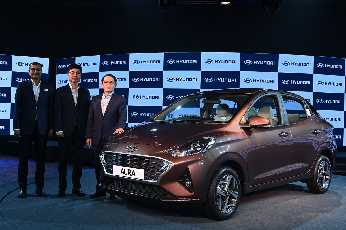 Hyundai Aura compact sedan launched at Rs 5.79 lakh