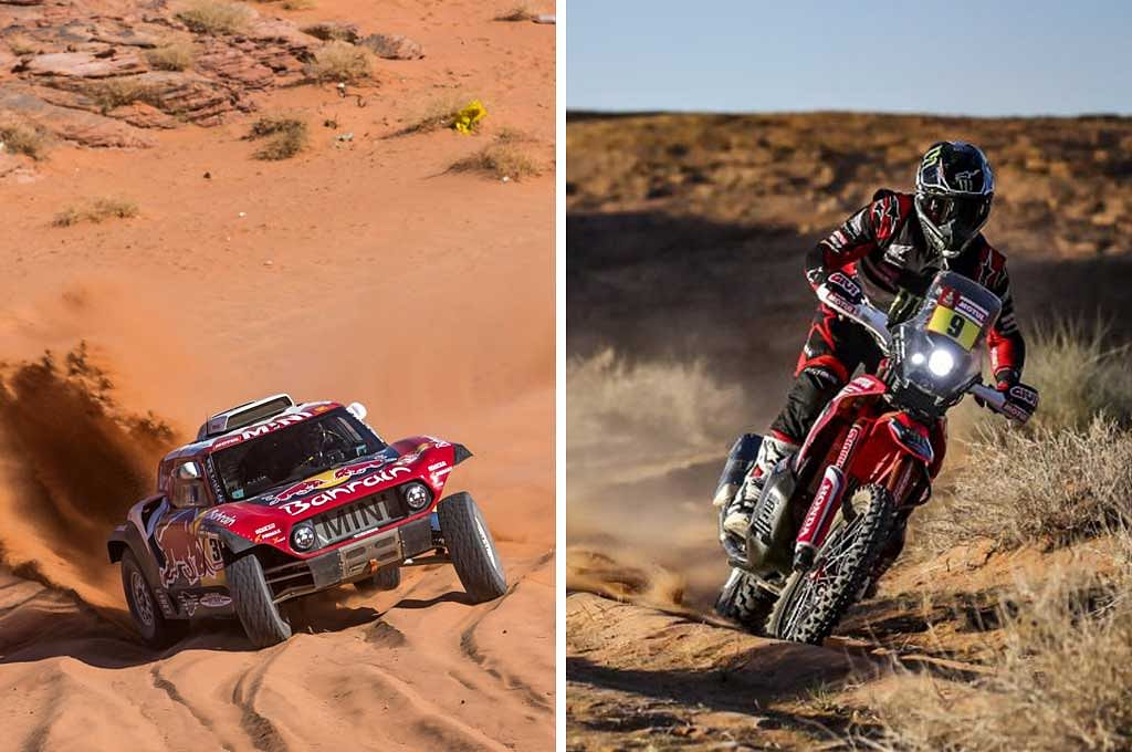 2020 Dakar: Carlos Sainz wins stage 5, Toby Price on Brabec's tail