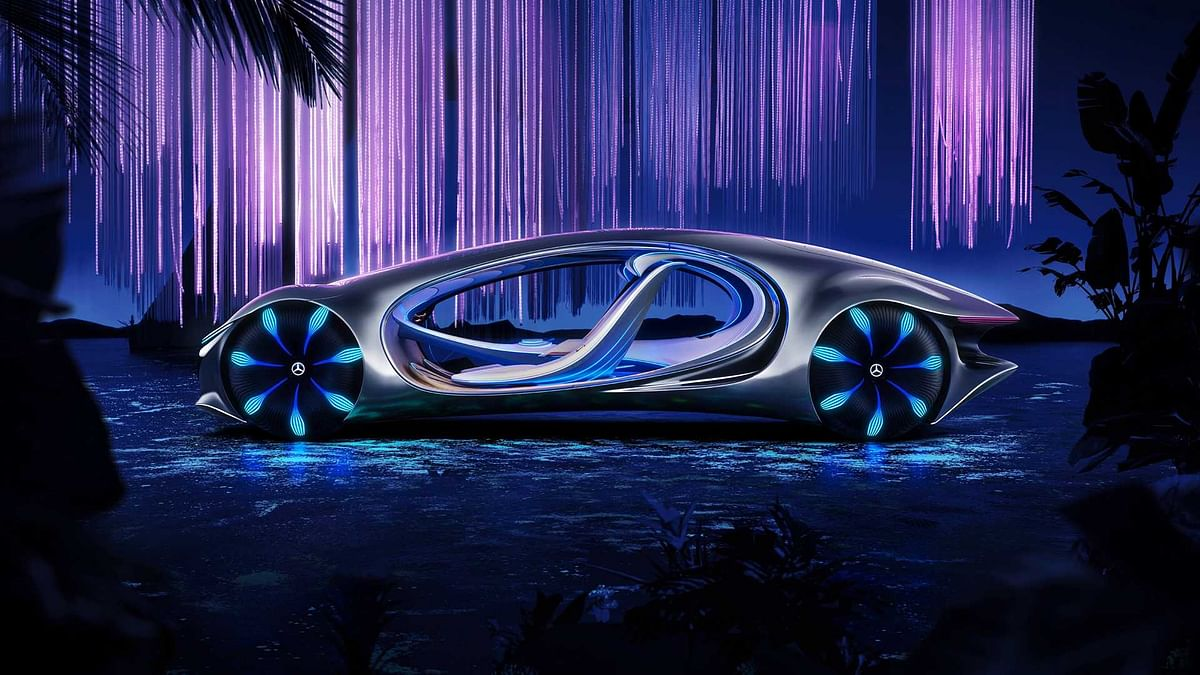 Mercedes Benz Vision AVTR Concept is inspired by the Blockbuster Avatar movie