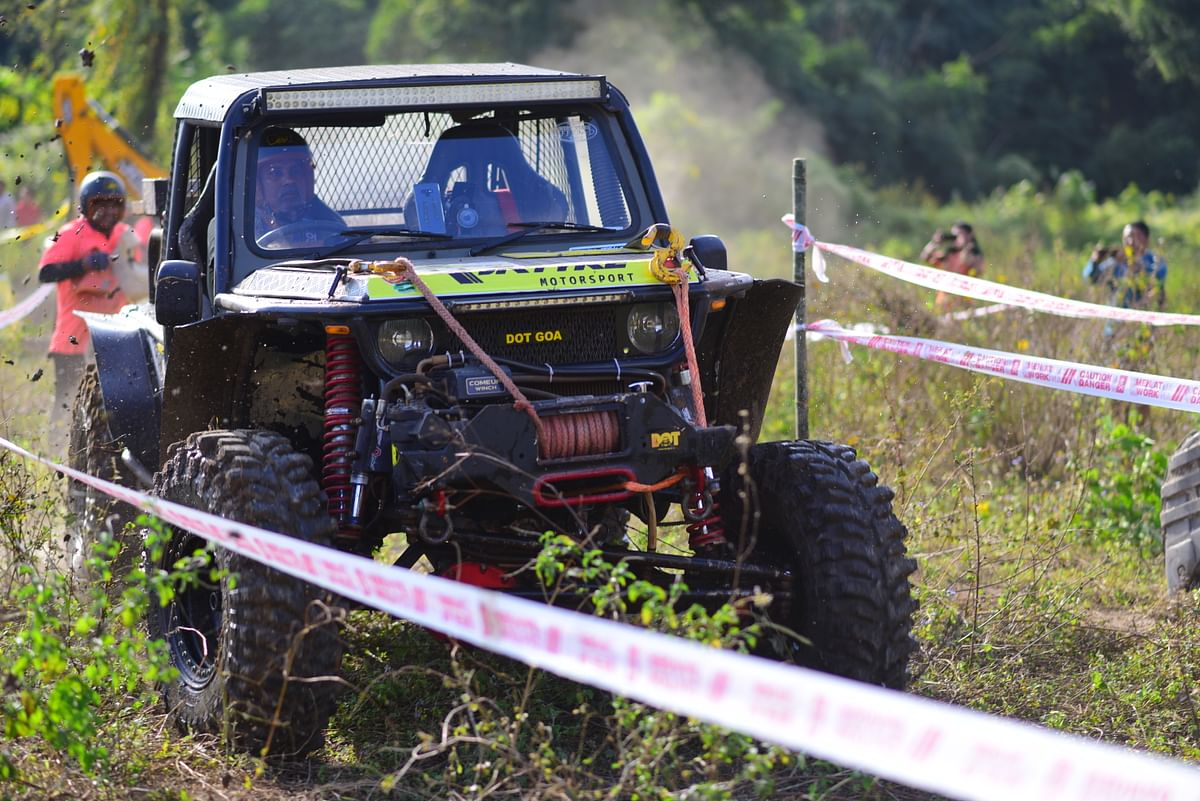Team MOCA wins JK Tyre Orange 4x4 Fury