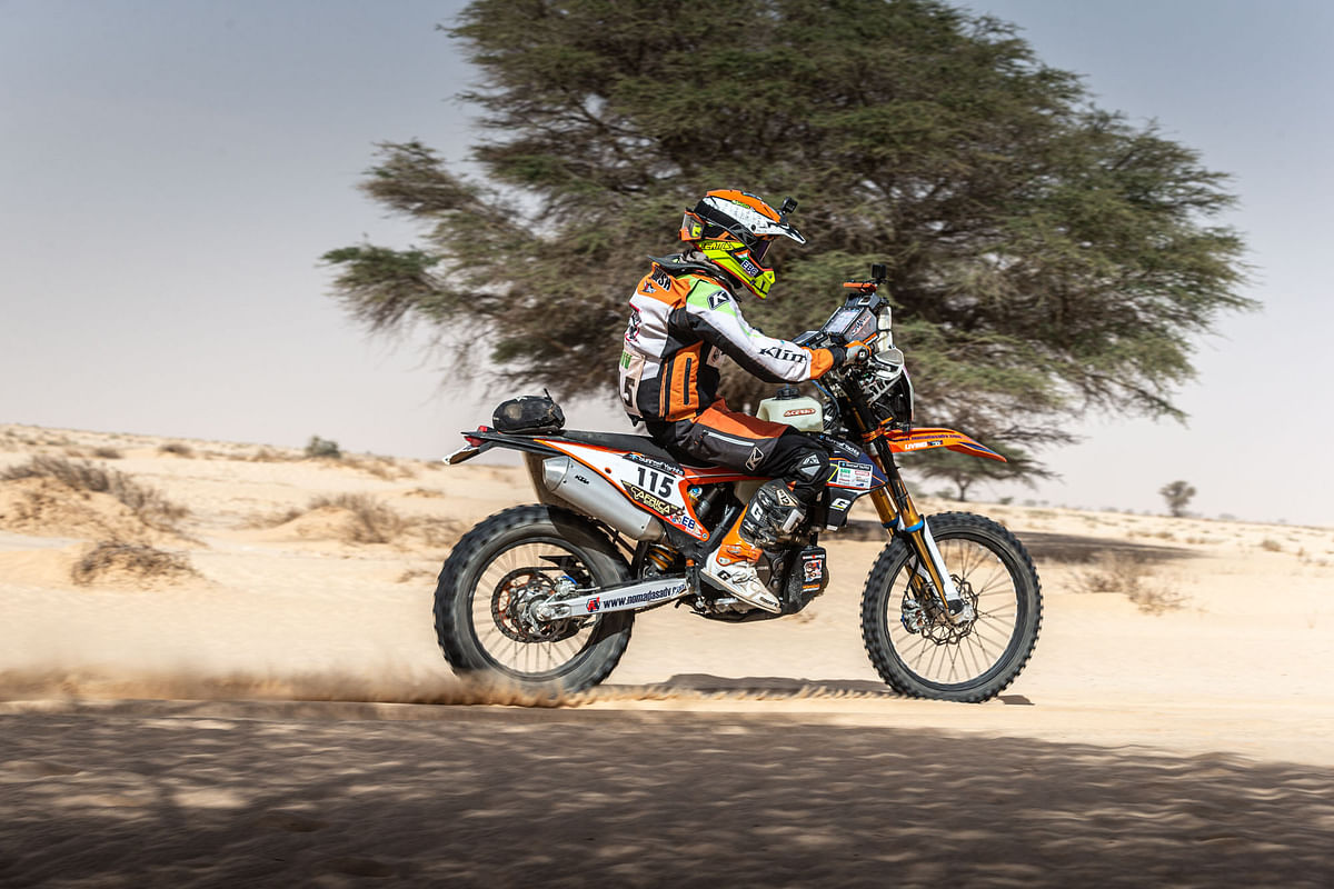 Ashish Raorane finishes Africa Eco Race