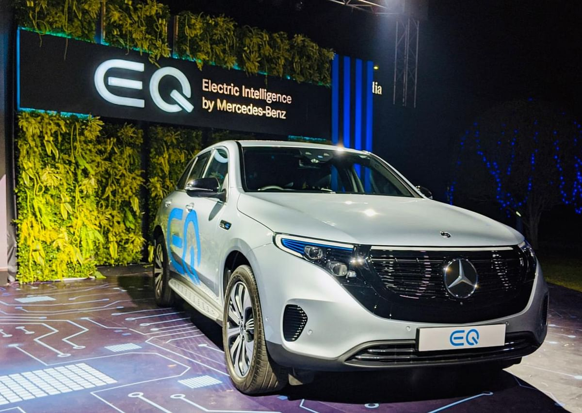Mercedes-Benz India goes electric with the EQC  SUV