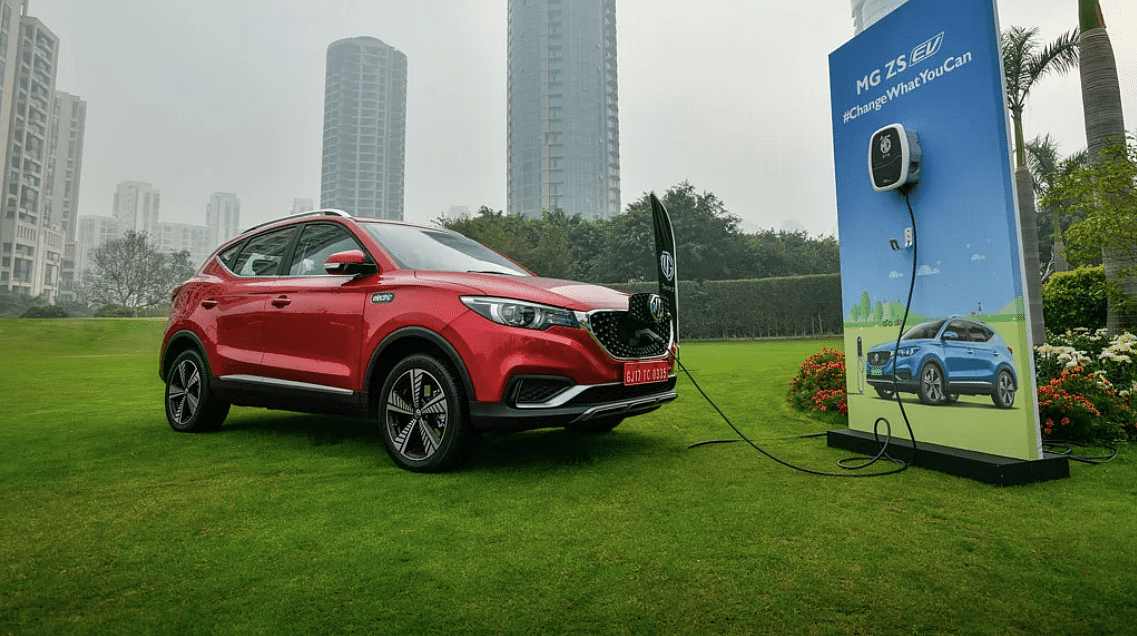 MG enters the sub-premium SUV market with the ZS EV