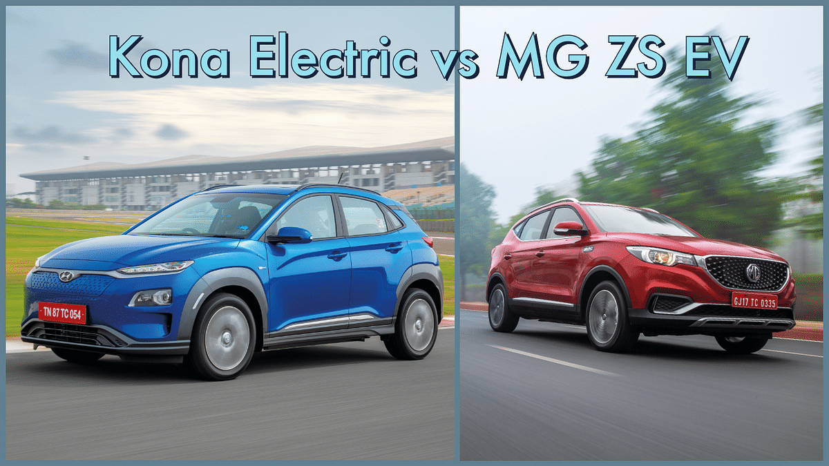 Hyundai Kona Electric vs MG ZS EV: Electric SUV price and spec comparo