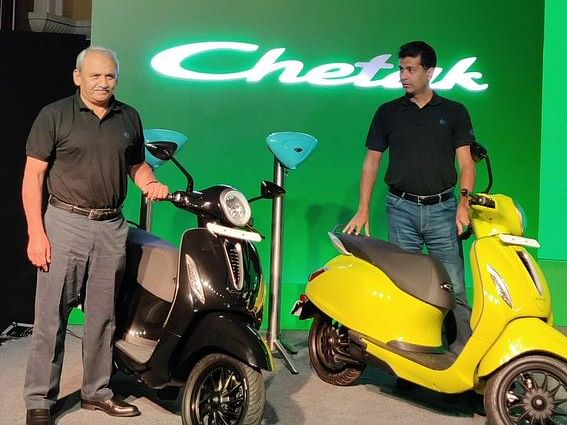 Chetak launched at Rs 1 lakh