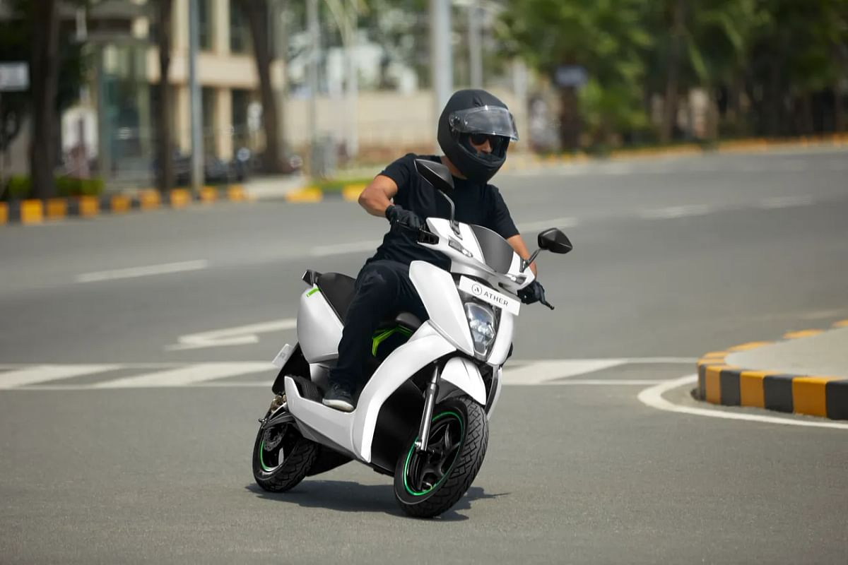 Ather Energy teases 450X electric scooter