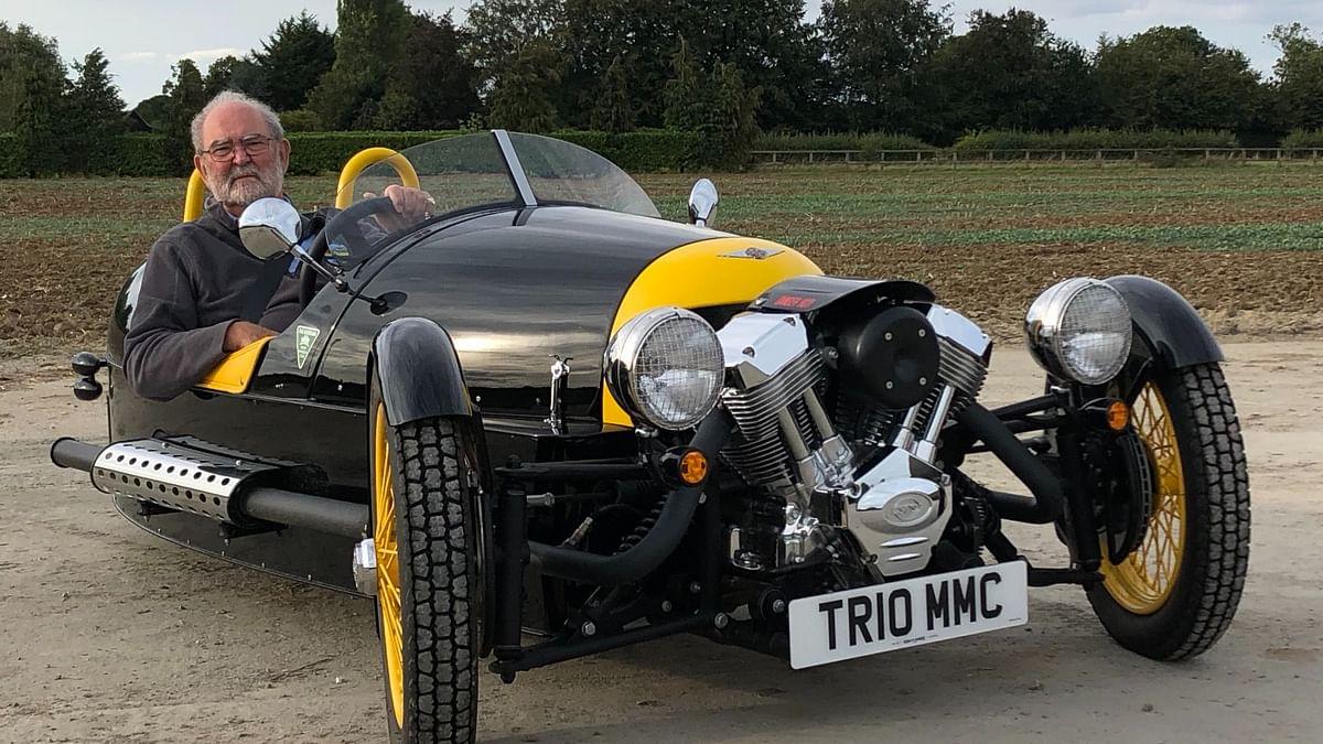 English businessman to drive a Morgan 3-wheeler across India to support NGO Goonj