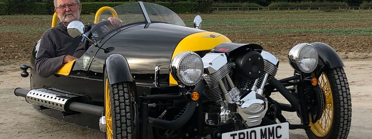 English businessman to drive a Morgan 3-wheeler across India to support NGO Goonj