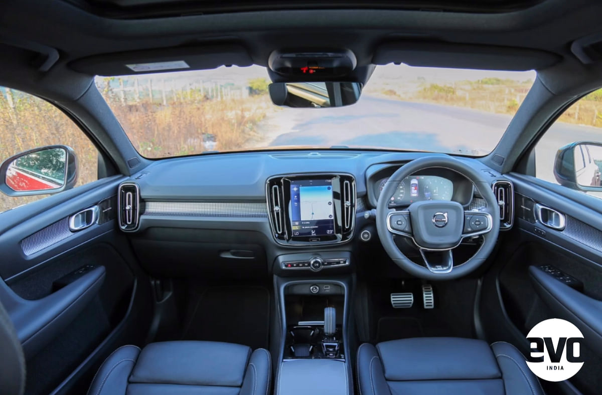 A 14 speaker Harman Kardon system,  and the vertical mounted infotainment screen