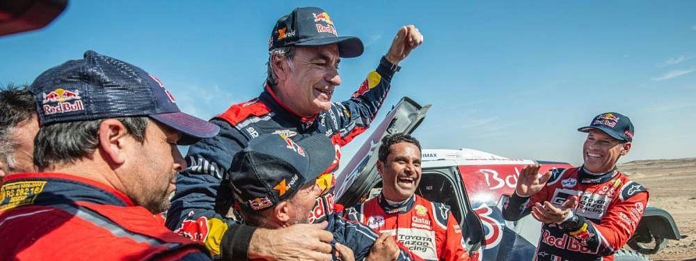 Carlos Sainz and Ricky Brabec emerge victorious at Dakar 2020