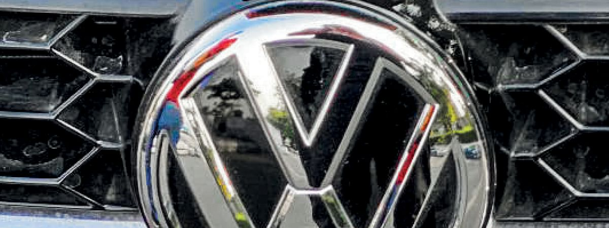 New car strategy, new look badge from Volkswagen at 2020 Auto Expo