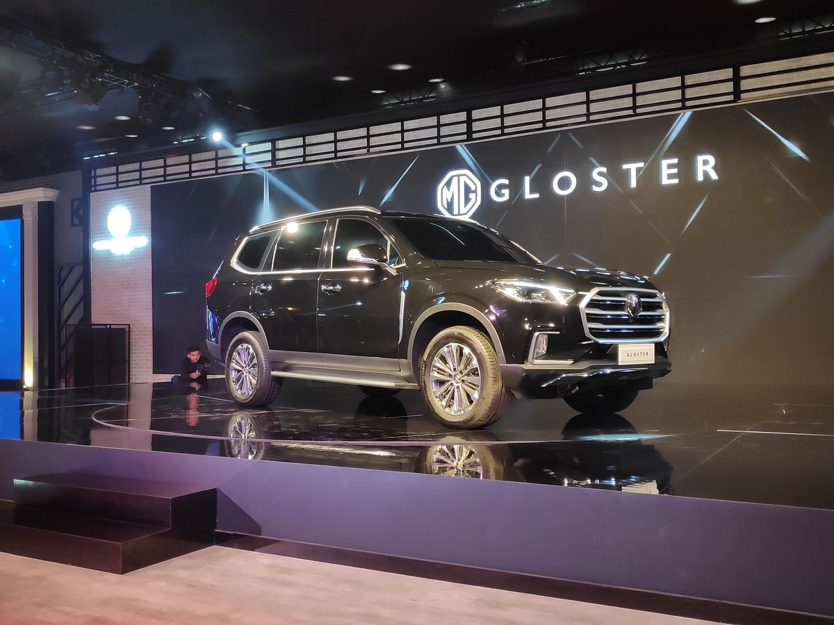 Auto Expo 2020: MG Motor India unveils the Gloster SUV and G10 MPV