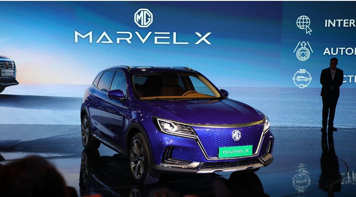 Auto Expo 2020: MG Motor showcase Marvel X