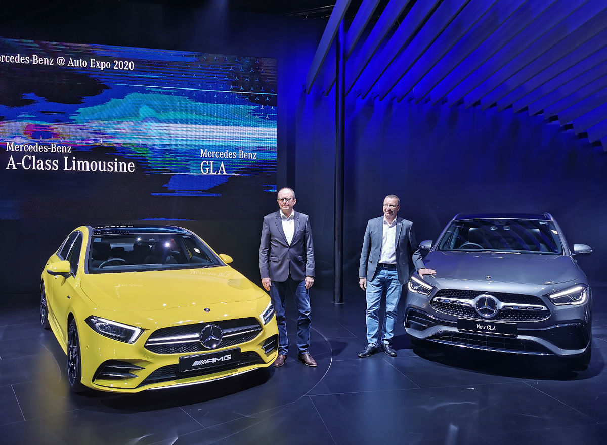 Auto Expo 2020: Mercedes-Benz roll in the A-Class Limousine