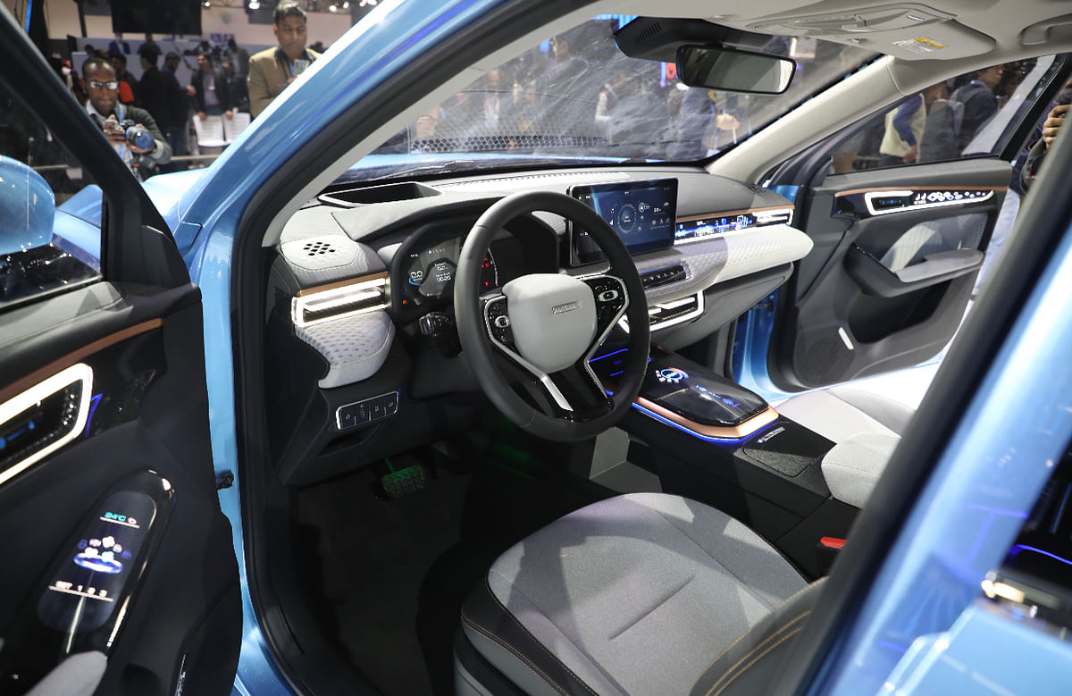 Auto Expo 2020: Great Wall Motors showcases Haval Concept H and Vision 2025