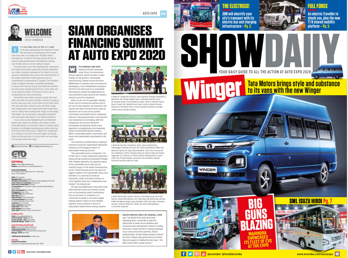 Day 8: Auto Expo Show Daily