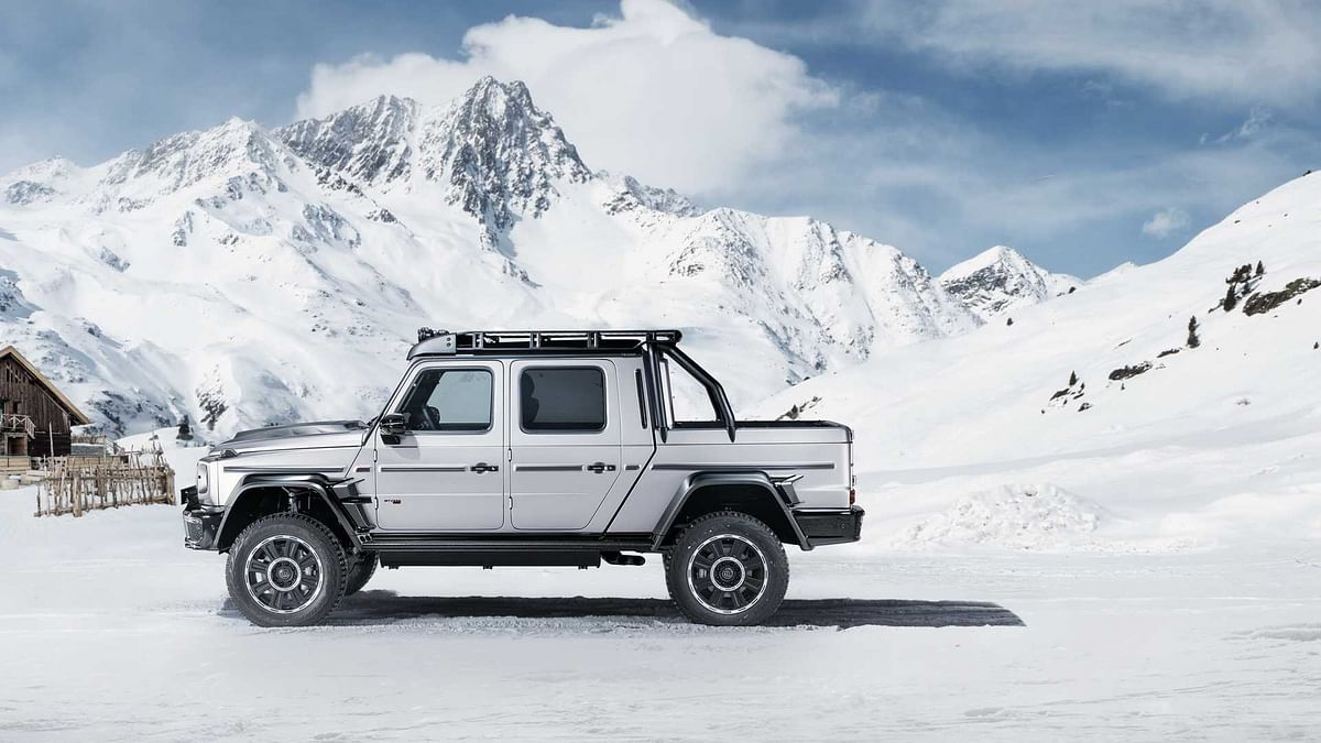 Brabus 800 Adventure XLP is based on the Mercedes-AMG G 63 underneath