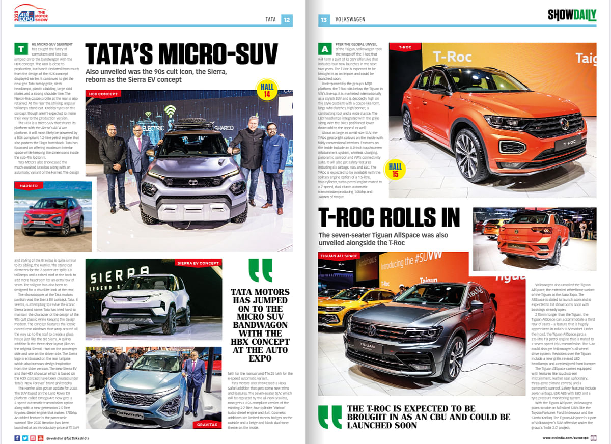 Day 2: Auto Expo Show Daily
