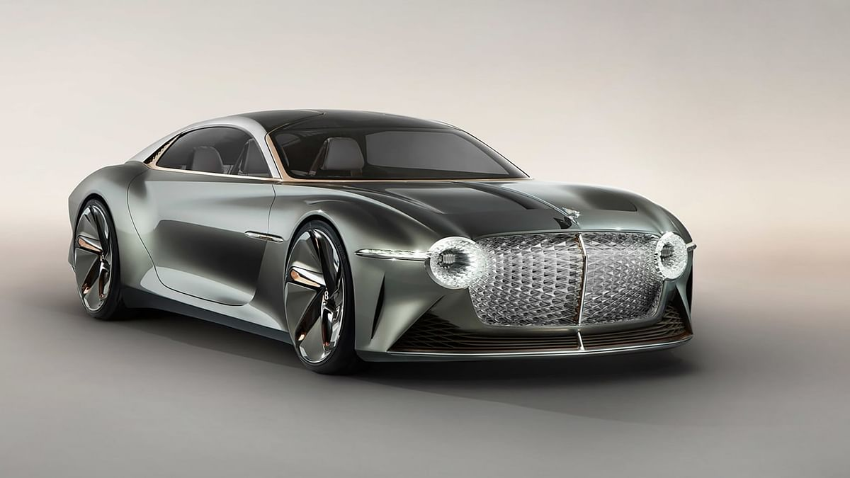 The all-electric EXP 100 GT concept