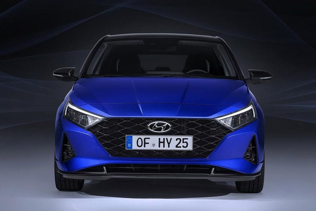Sharper front end for the 2020 i20