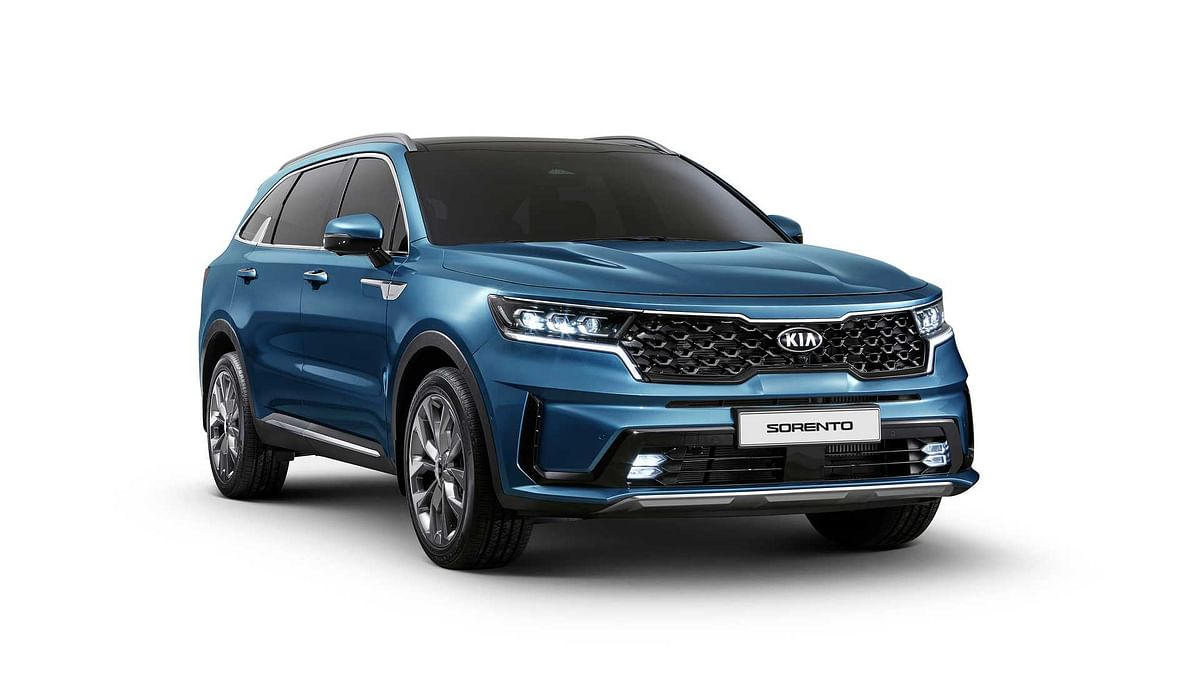 Kia Sorento revealed ahead of Geneva Motor Show