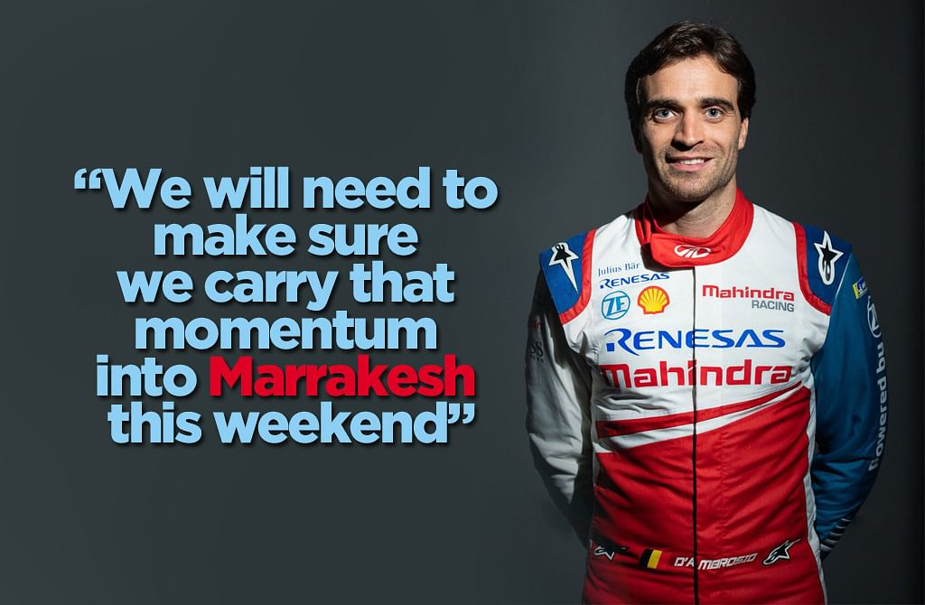 Jerome D'Ambrosio: The Marrakesh E-Prix will be Mahindra Racing's comeback race