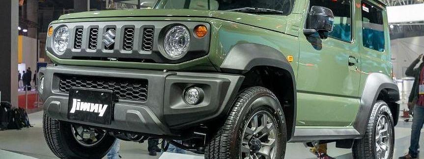 Auto Expo 2020: Maruti Suzuki finally showcases the Jimny