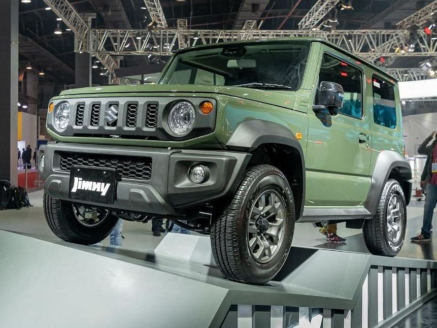 Auto Expo 2020: Maruti Suzuki finally showcases the Jimny