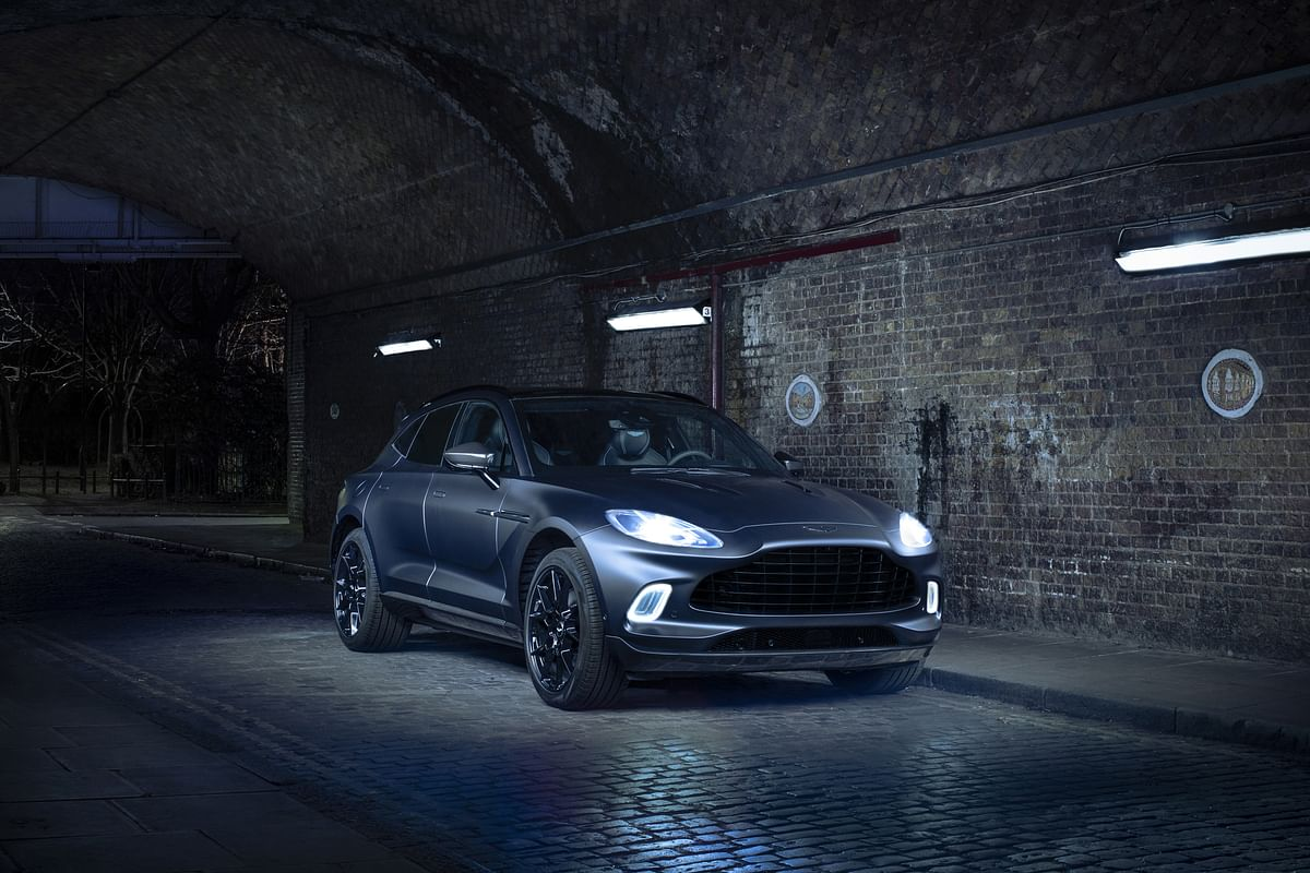 Aston Martin showcases bespoke DBX ahead of the Geneva Motor Show