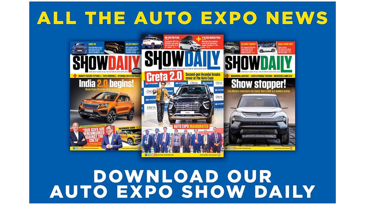 Auto Expo 2020: Download the official daily show guide