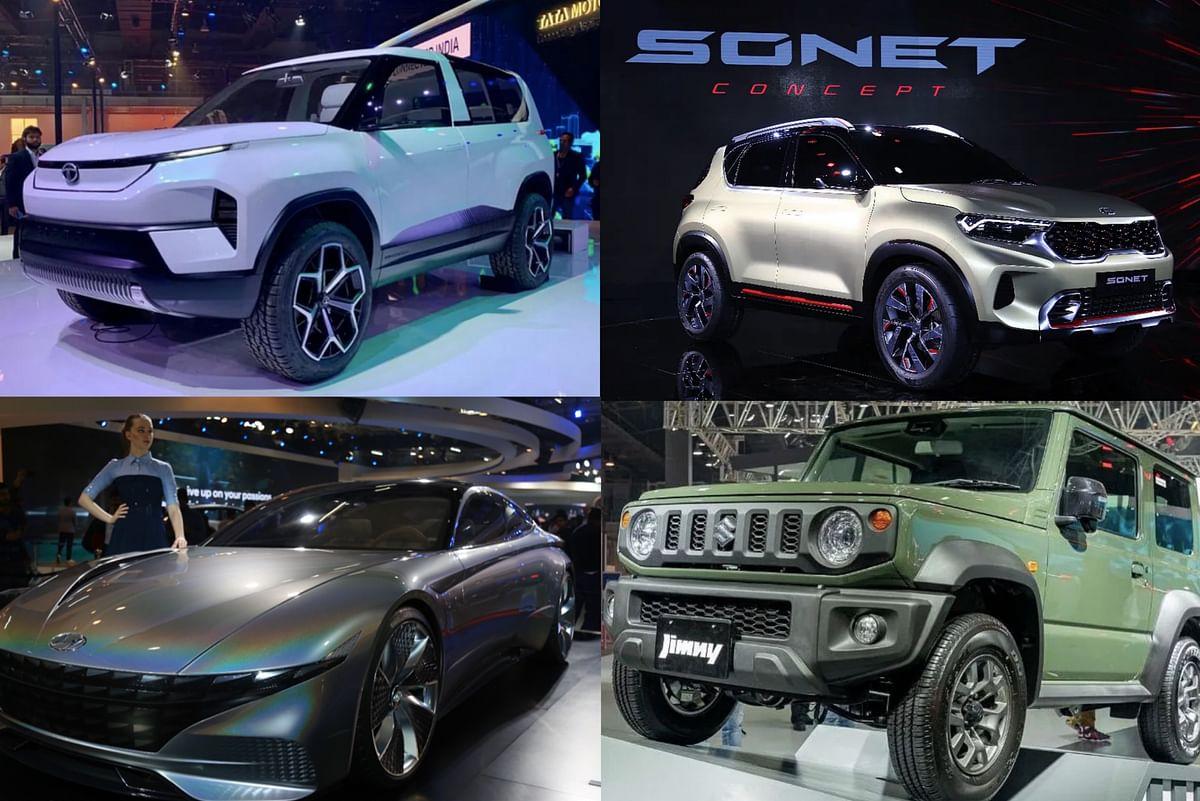 Auto Expo 2020 cars