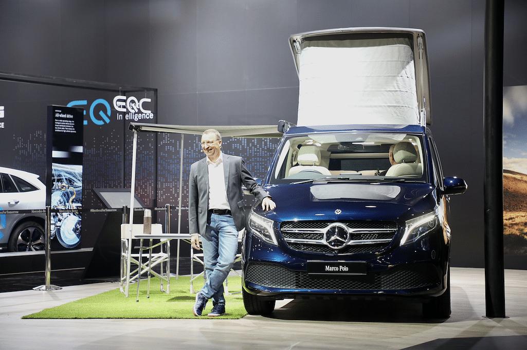 Auto Expo 2020: Mercedes-Benz unveils V-Class Marco Polo