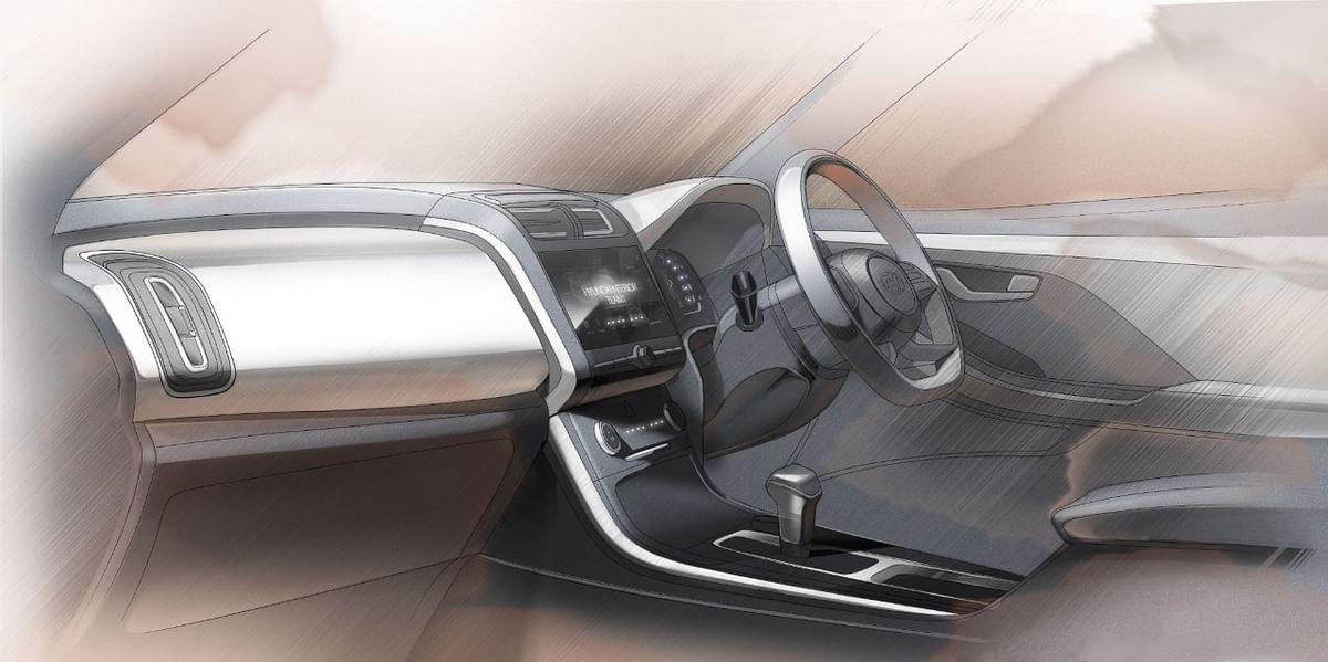 Creta gets a flat-bottom, multi-function steering wheel
