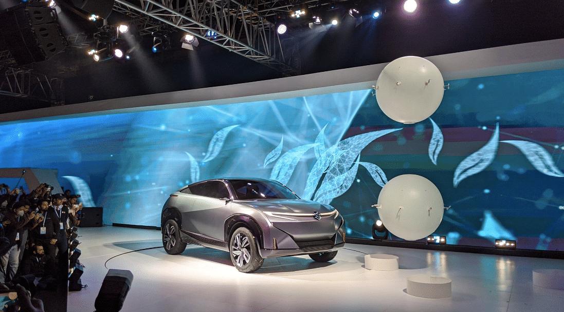 Auto Expo 2020: Maruti Suzuki unveils the Concept Futuro-e