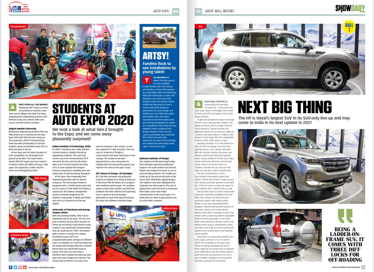 Day 6: Auto Expo Show Daily