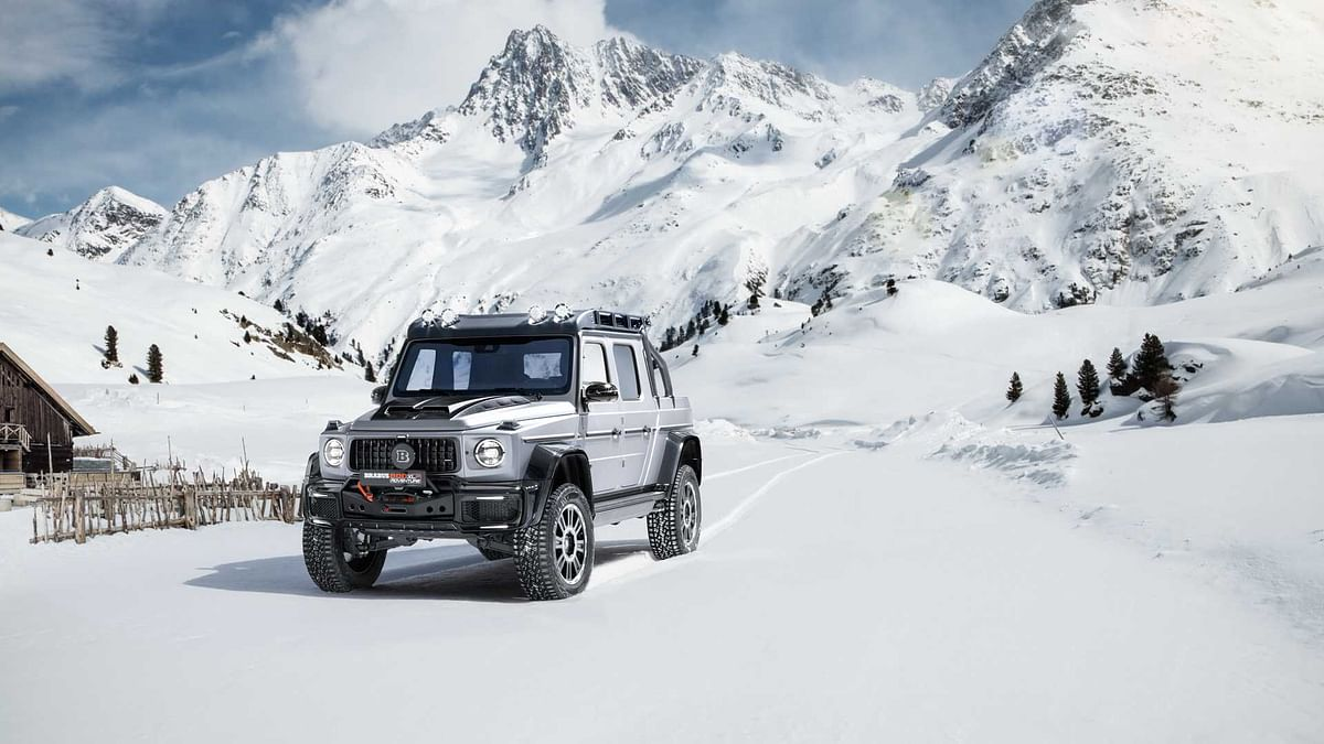 The 789bhp Brabus 800 Adventure XLP is a Mercedes-AMG G63 pickup