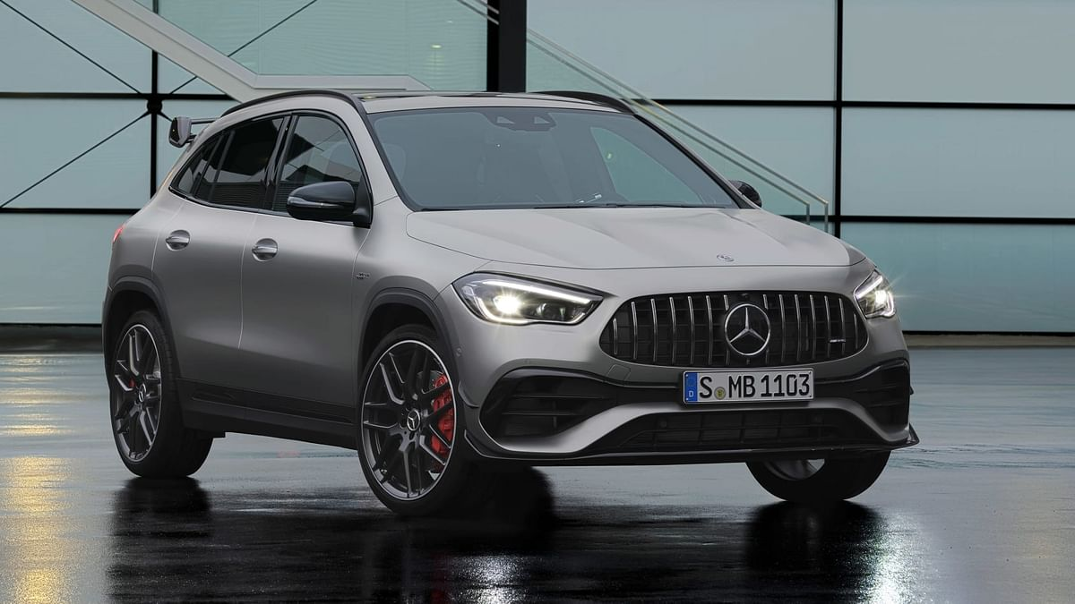 2020 Mercedes-AMG GLA45 revealed with class-leading 415bhp output