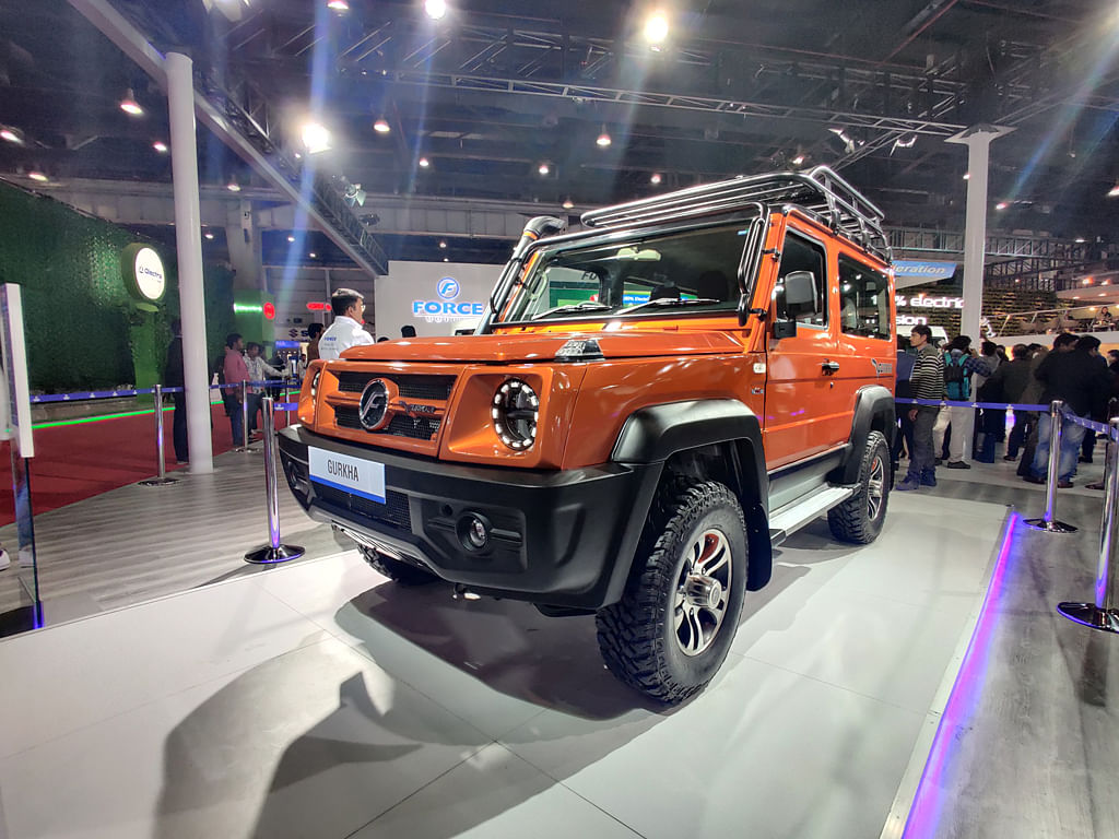 Auto Expo 2020: Force Motors unveils three new platforms, a new Gurkha
