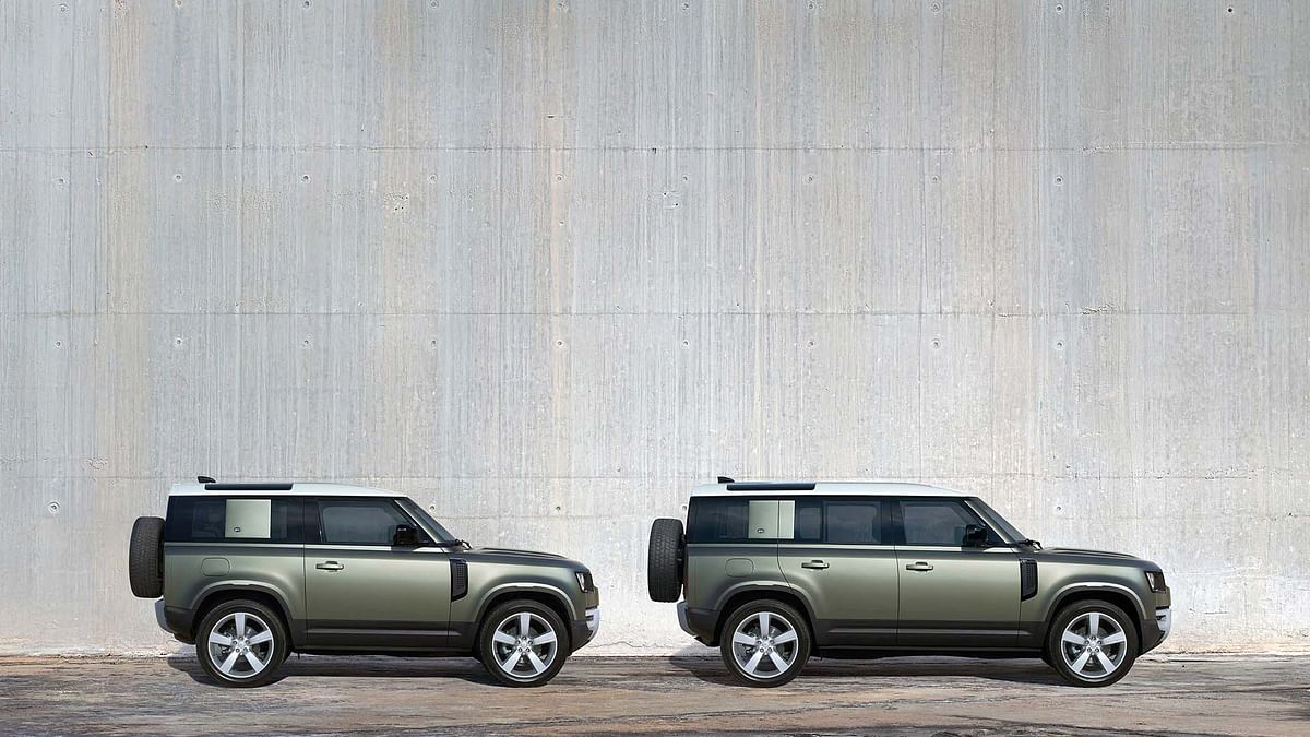 The Defender 110 and Defender 90 will be offered in four variants with a diesel powertrain