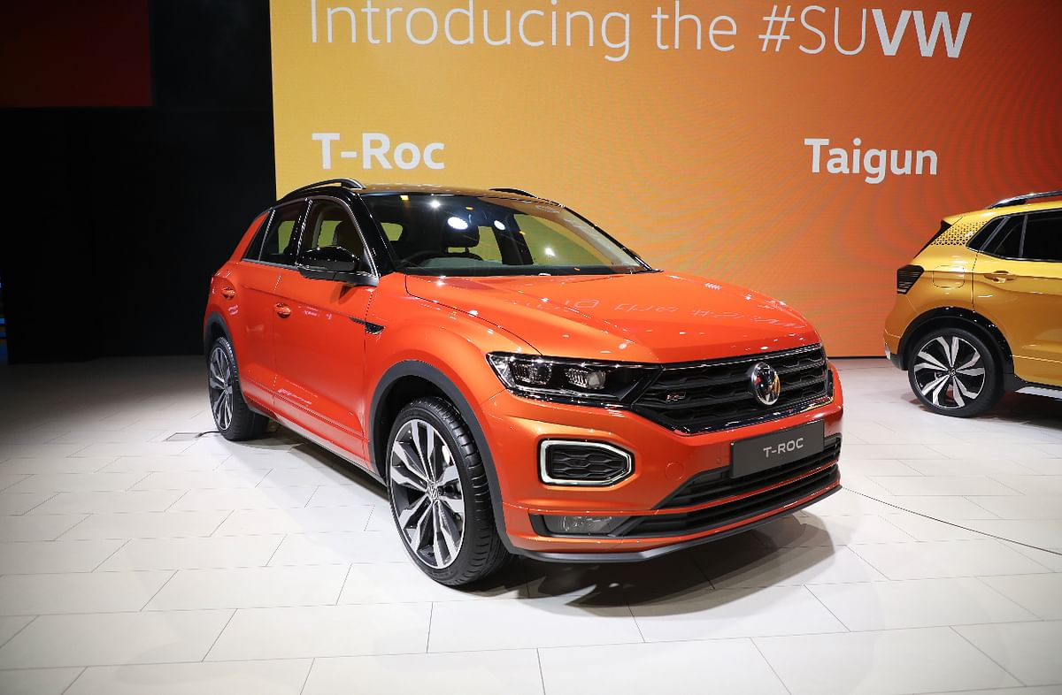 Auto Expo 2020: T-Roc breaks cover
