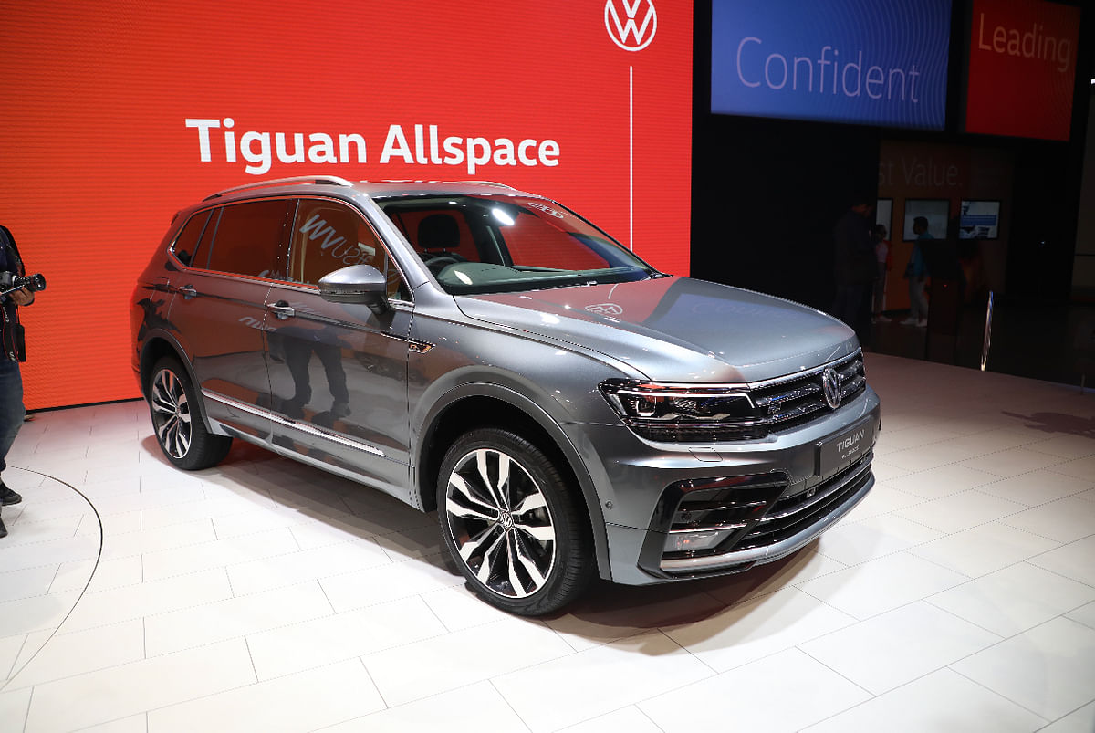 Volkswagen to launch Tiguan Allspace on March 6