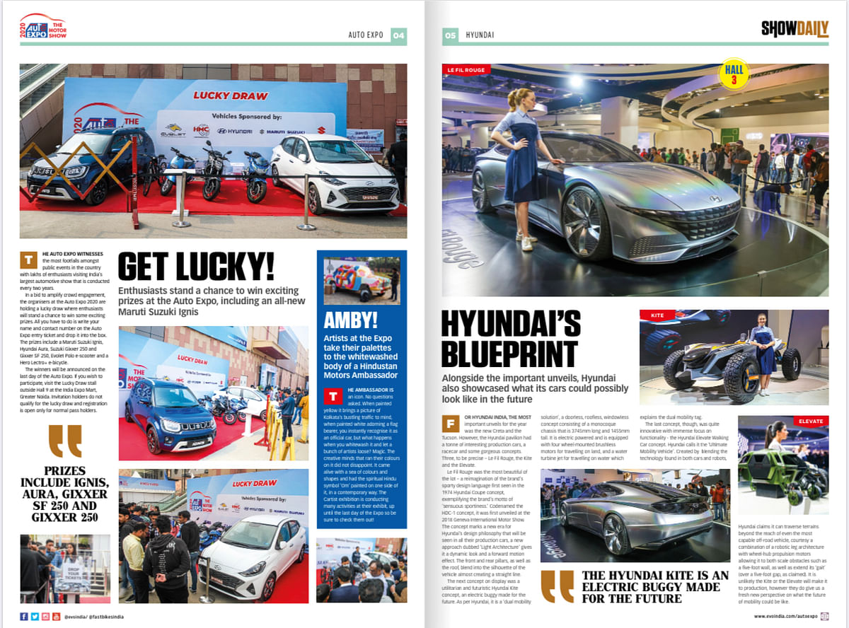 Day 7: Auto Expo Show Daily